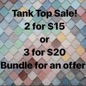 Tops - Tank top sale!